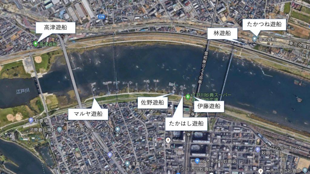 江戸川放水路ボート屋比較 – ハゼ釣り編