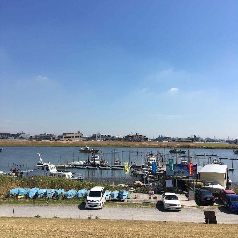 佐野遊船 – 江戸川放水路のハゼ釣り貸しボート屋