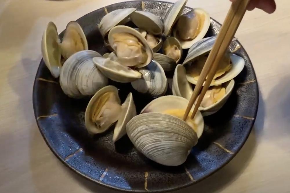江戸川放水路の潮干狩りで獲れる巨大二枚貝「ホンビノス貝」の下処理と美味しい食べ方(酒蒸し)